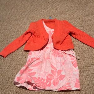 Girls outfit. BabyGap and Carter's combination